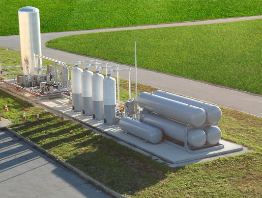Landfill Gas Upgradation System, Natural Gas Upgrading or Purification Plant, Natural Gas Enrichment System